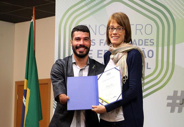 Daniel Dias participa de painel sobre controle de dopagem em Brasília