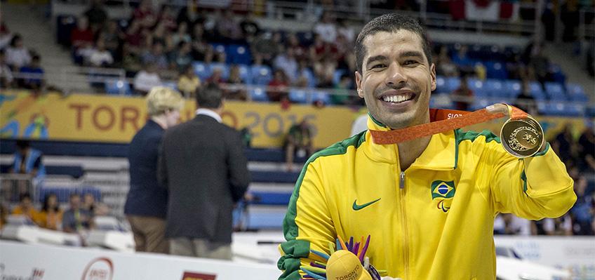 """""""Hoje somos o país da natação paralímpica"""", diz Daniel Dias"""