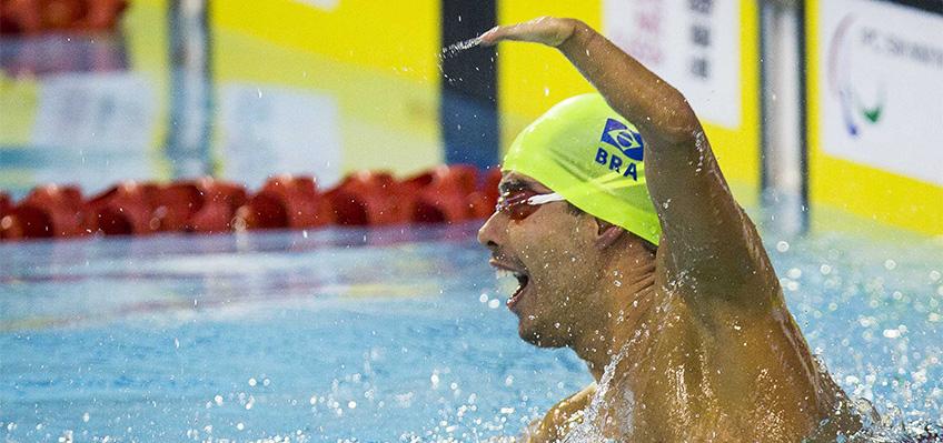 Daniel Dias é destaque no Mundial Paralímpico de Natação