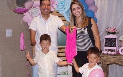 Daniel Dias comemora a chegada da primeira filha