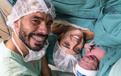 Nasce a filha de Daniel Dias
