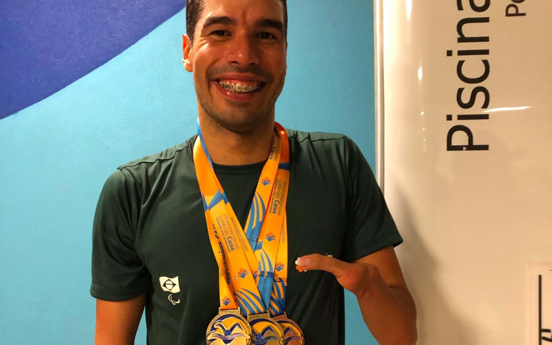 Daniel garante vaga no Parapan e Mundial de Natação