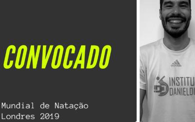 Daniel Dias é convocado para seu 6o Mundial de Natação