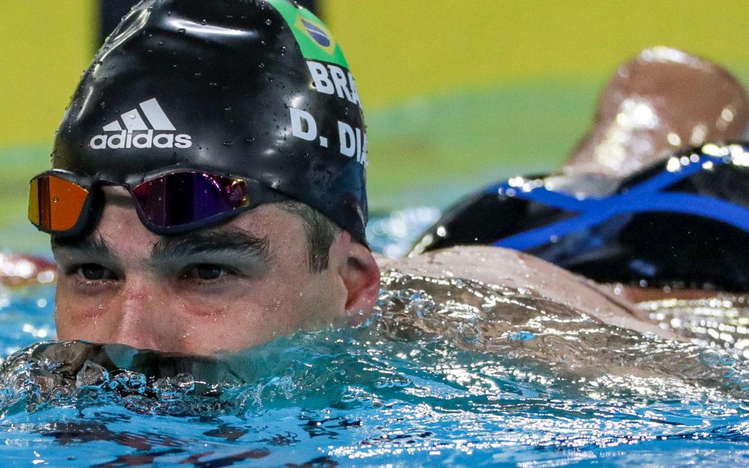 Daniel Dias retorna a competir apenas na quarta-feira nos 100m livre