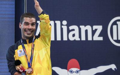Daniel Dias garante vaga para as Paralimpíadas de Tóquio 2020