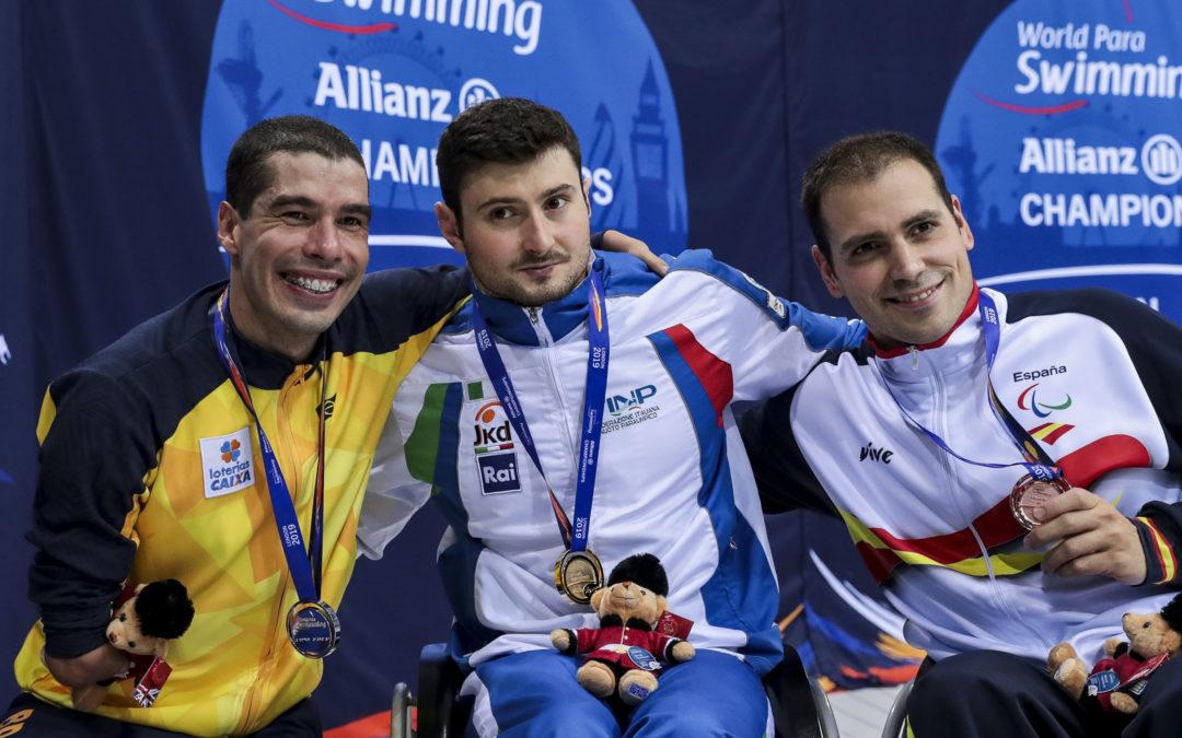 Daniel Dias chega a sua 40ª medalha em Mundiais de Natação