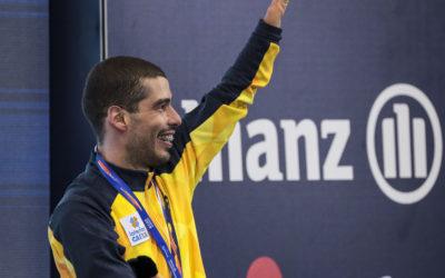 50m costas rende o segundo bronze para Daniel Dias