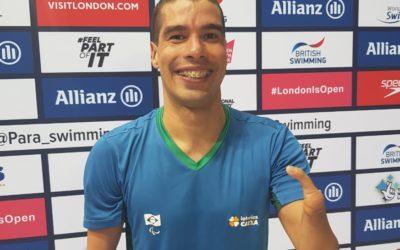 Primeiro dia de Mundial de Natação teve o melhor de Daniel Dias nos 50m livre