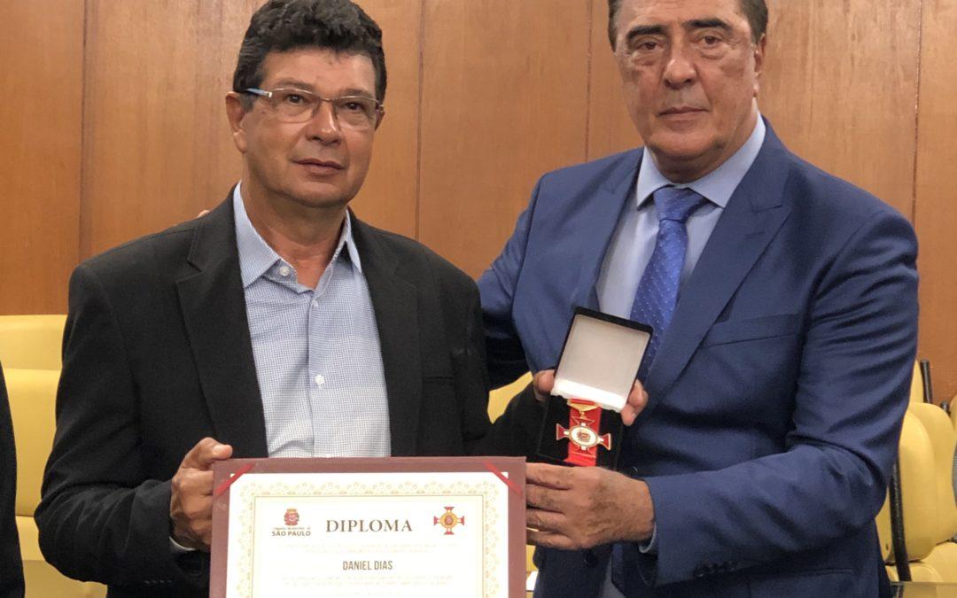 Daniel Dias recebe Medalha de Honra ao Mérito Desportivo